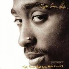 2Pac - The Rose That Grew From Concrete album CD cover