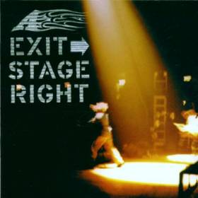 A - Exit Stage Right album CD cover