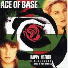 Ace of Base - Happy Nation album CD cover