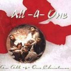 All 4 One - An All-4-One Christmas album CD cover