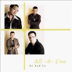 All 4 One - On and On album CD cover