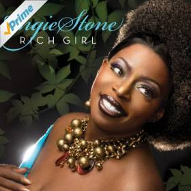 Angie Stone - Rich Girl album CD cover