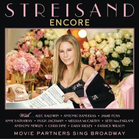 Barbra Streisand - Encore: Movie Partners Sing Broadway album CD cover