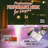 Elvis Presley - Sing-a-long-vol. 1 album CD cover