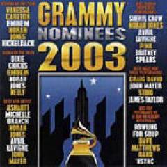 Grammy Nominees 1995-2006 Albums - Grammy Nominees 2003 album CD cover