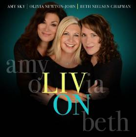 Olivia Newton-John - Liv On album CD cover